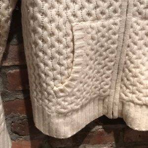 Madewell Sweaters - Madewell Wool Bomber Sweater XL